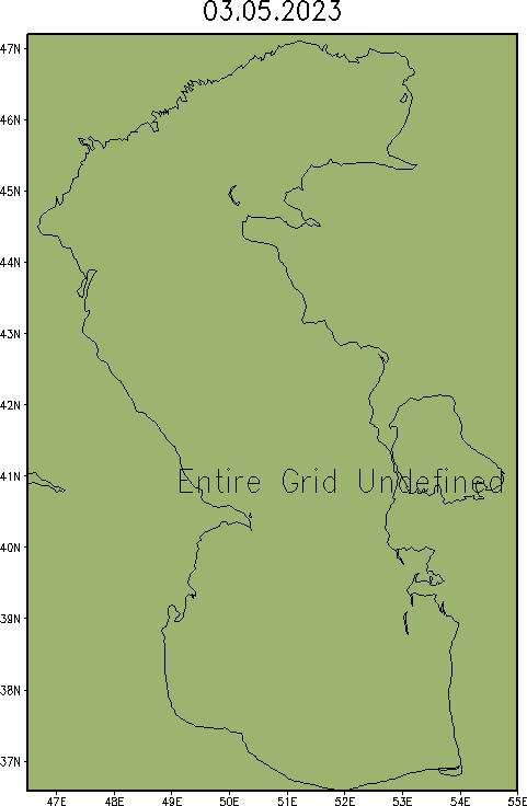 Карта аномалий уровня