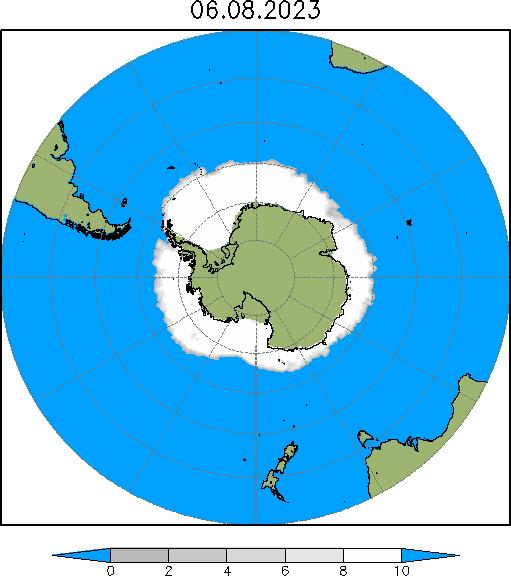 Морской лед в Антарктике